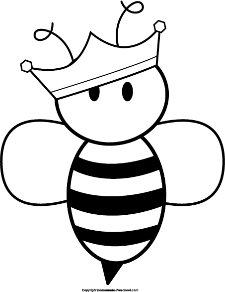 453x586 Image Of Bee Clipart Black And White