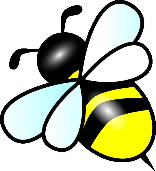 540x593 Small Bee Clip Art