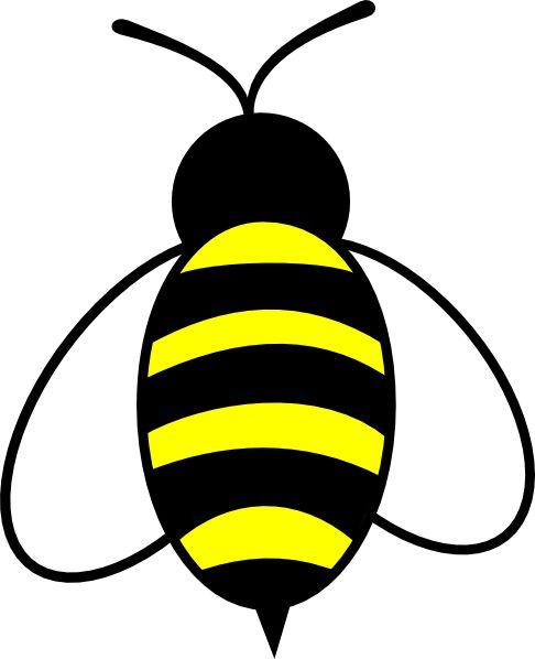 486x598 Bumble Bee Clip Art Bumble Bee Clipart Clipart Panda Free Clipart