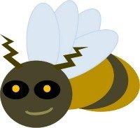 200x183 Bumble Bee Clip Art