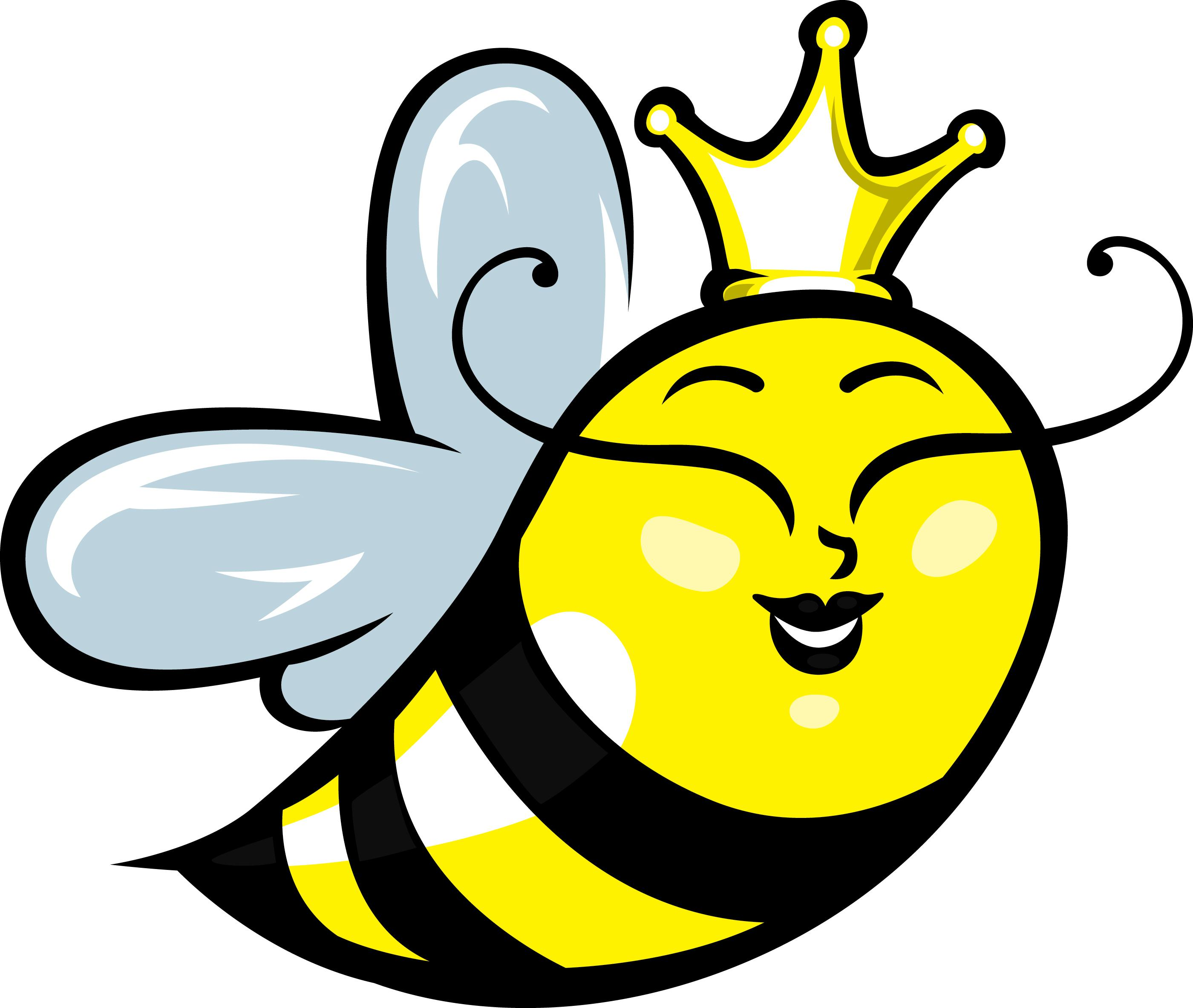 2800x2365 Cartoon Bumble Bee Clip Art Clipart Clipartwiz 2