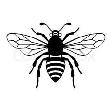 225x225 Bee Outline Tattoo Black Bee Outline Tattoo Design