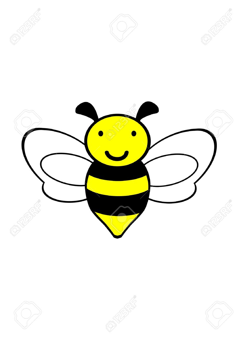 918x1300 Simple Bumble Bee Drawing Bee Clipart Black And White Clipart