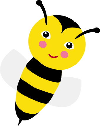 340x430 Bee Clipart Bumble Bee Free All Rights