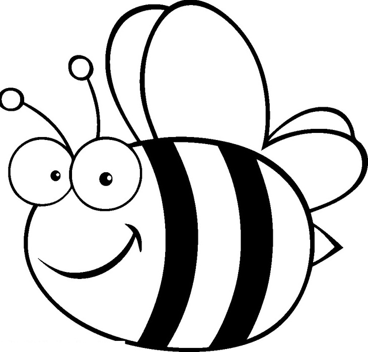 Bumble Bee Template Printable Clipart