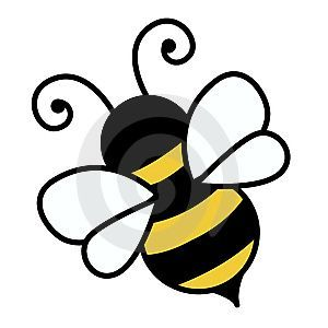 300x300 Bumble Bee Free Cute Bee Clip Art An Illustration Of A Cute Bee