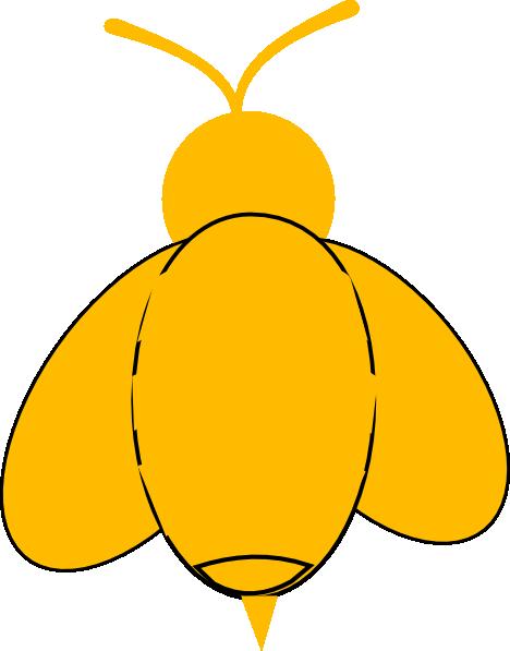 468x597 Yellow Bumble Bee Clip Art