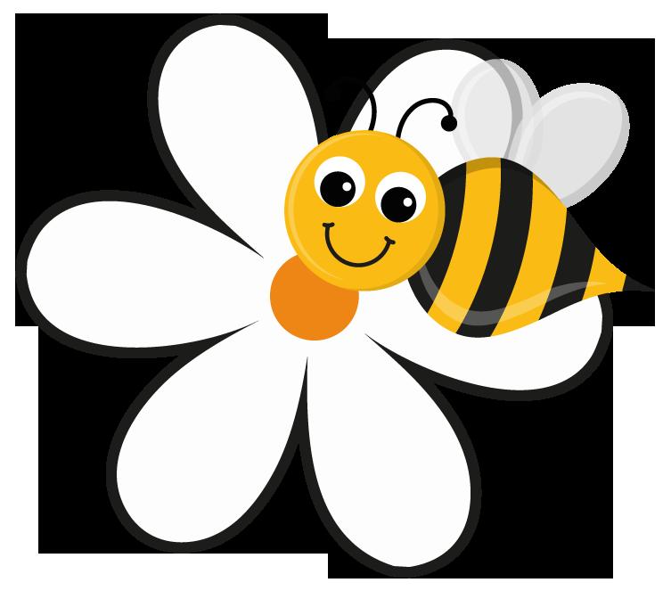 753x672 Bee Clipart Bee Flower