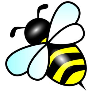 300x300 Bee Clip Art