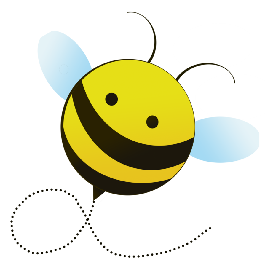 894x894 15 Cute Bee Cartoon Png Frees That You Can Download To Clipart