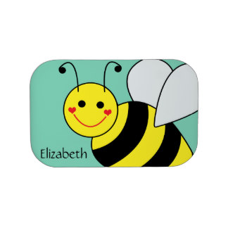 324x324 Cute Bumble Bee Lunch Boxes Zazzle