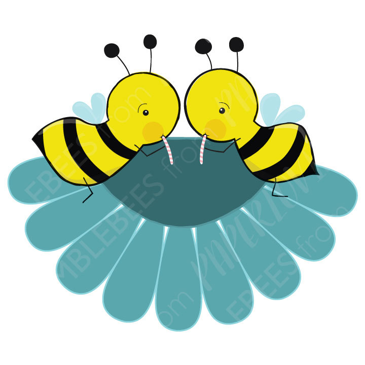 720x720 Happy Bumble Bee Clipart Cute Bumblebee Graphics For Commercial