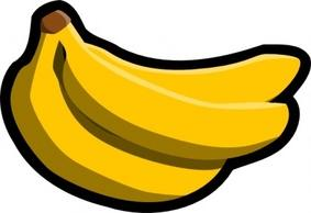 283x194 Bananas Clipart Image Bunch Of Yellow Bananas Including One That