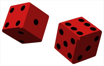 350x224 Dice Clipart Free Clipartfest 2