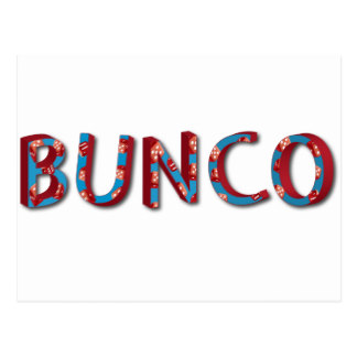 324x324 Bunco Party Postcards Zazzle