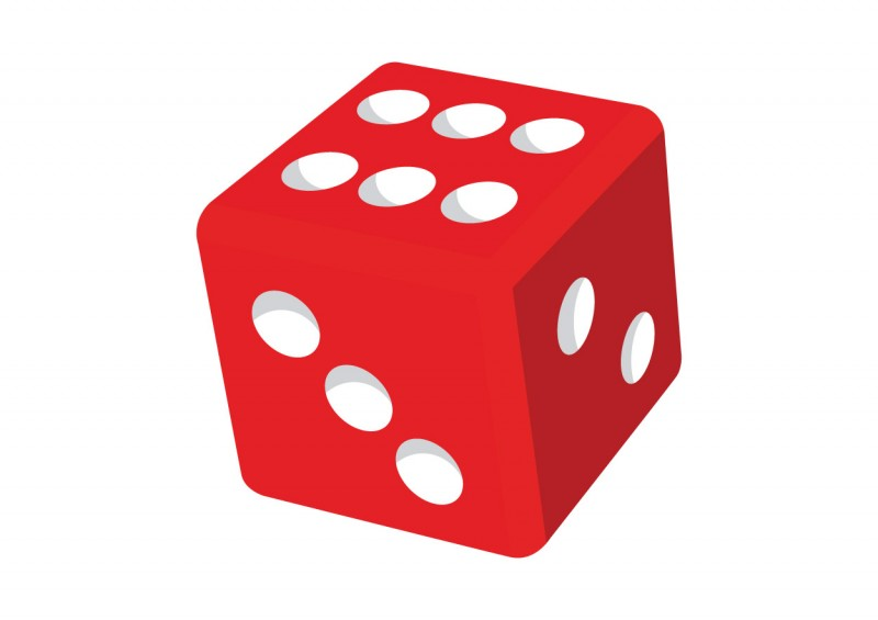 800x565 Dice Clipart Outline