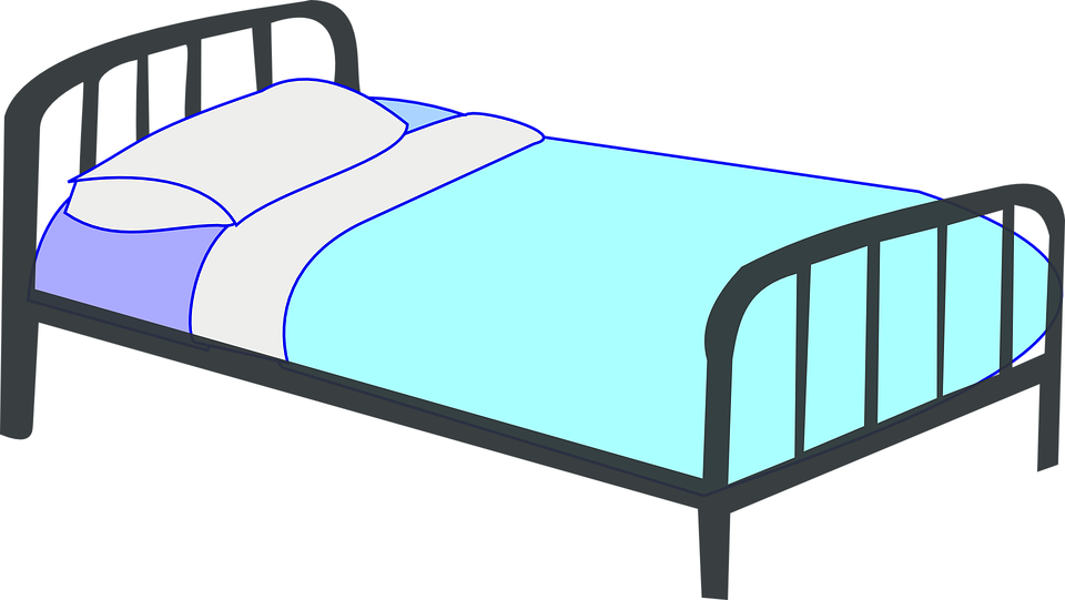 960x541 Bed Clipart Transparent