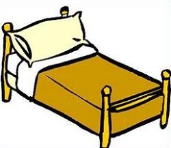 250x217 Bed Clip Art