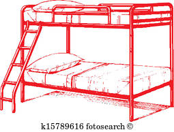 255x194 Bunk Bed Clip Art Illustrations. 155 Bunk Bed Clipart Eps Vector