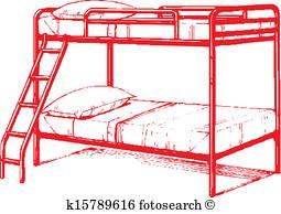 255x194 Bunk Bed Clip Art Illustrations. 155 Bunk Bed Clipart Eps Vector