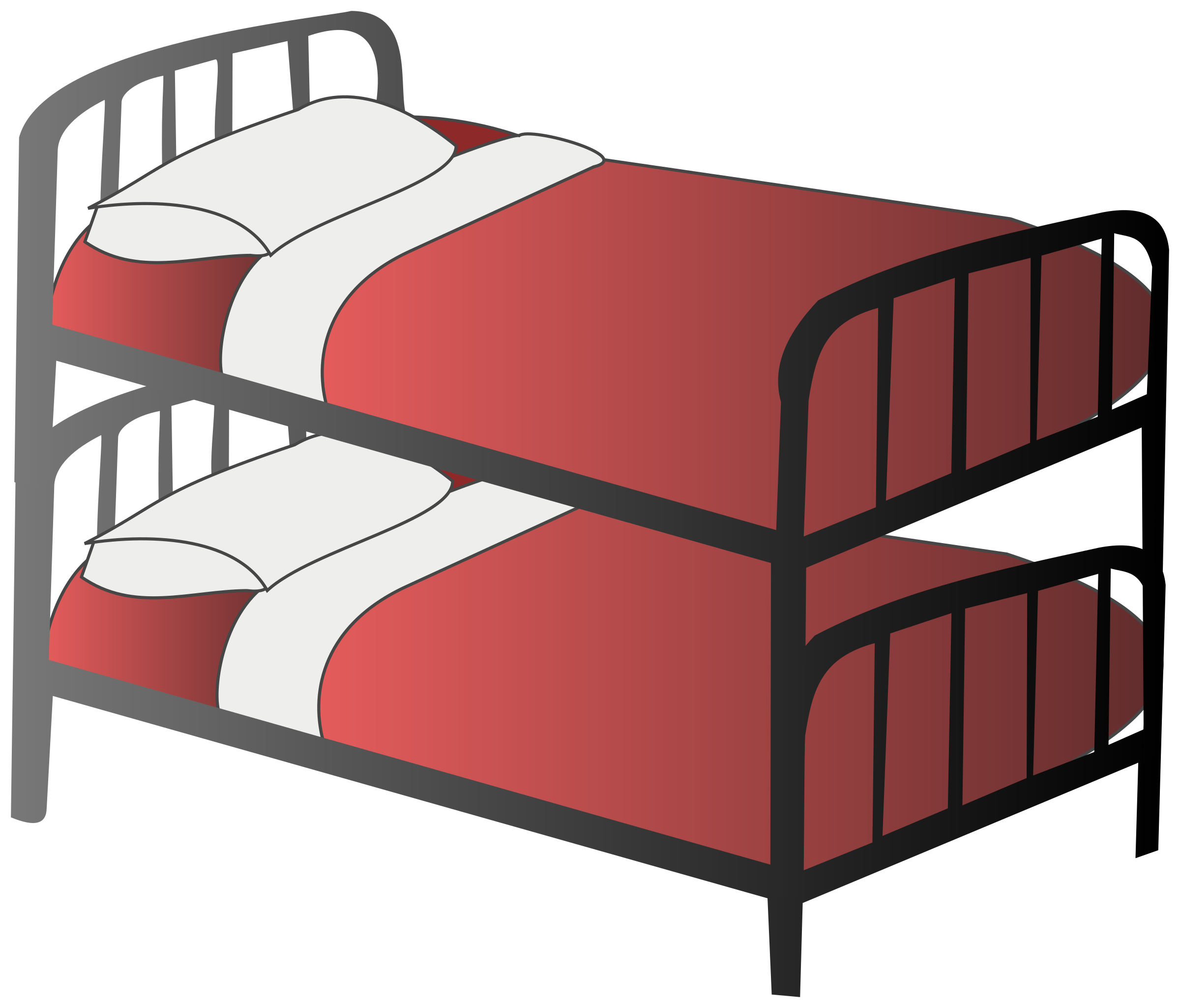 2400x2049 Clipart Bunk Bed Clipartbold
