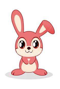 236x347 Drawn Bunny Pink Bunny