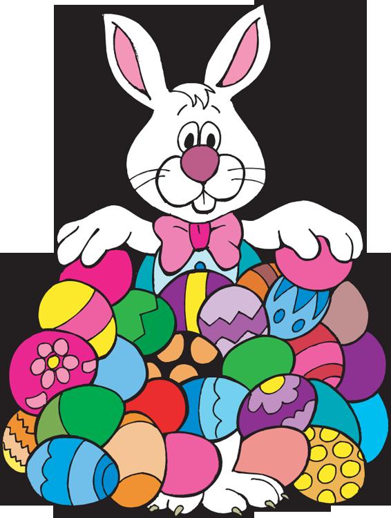 566x750 Clip Art Easter Bunny