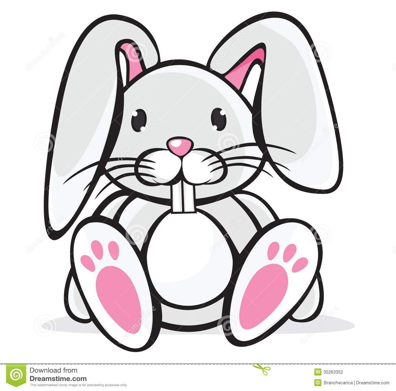 1300x1285 Cute Rabbit Clipart
