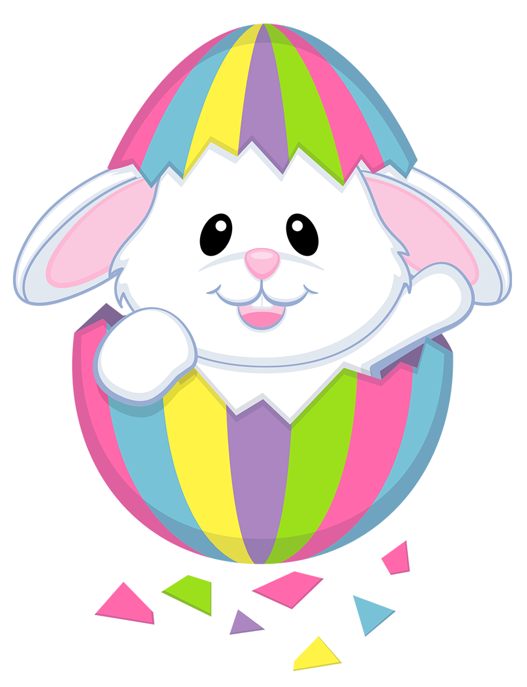 1056x1378 Cute Clipart Easter Bunny