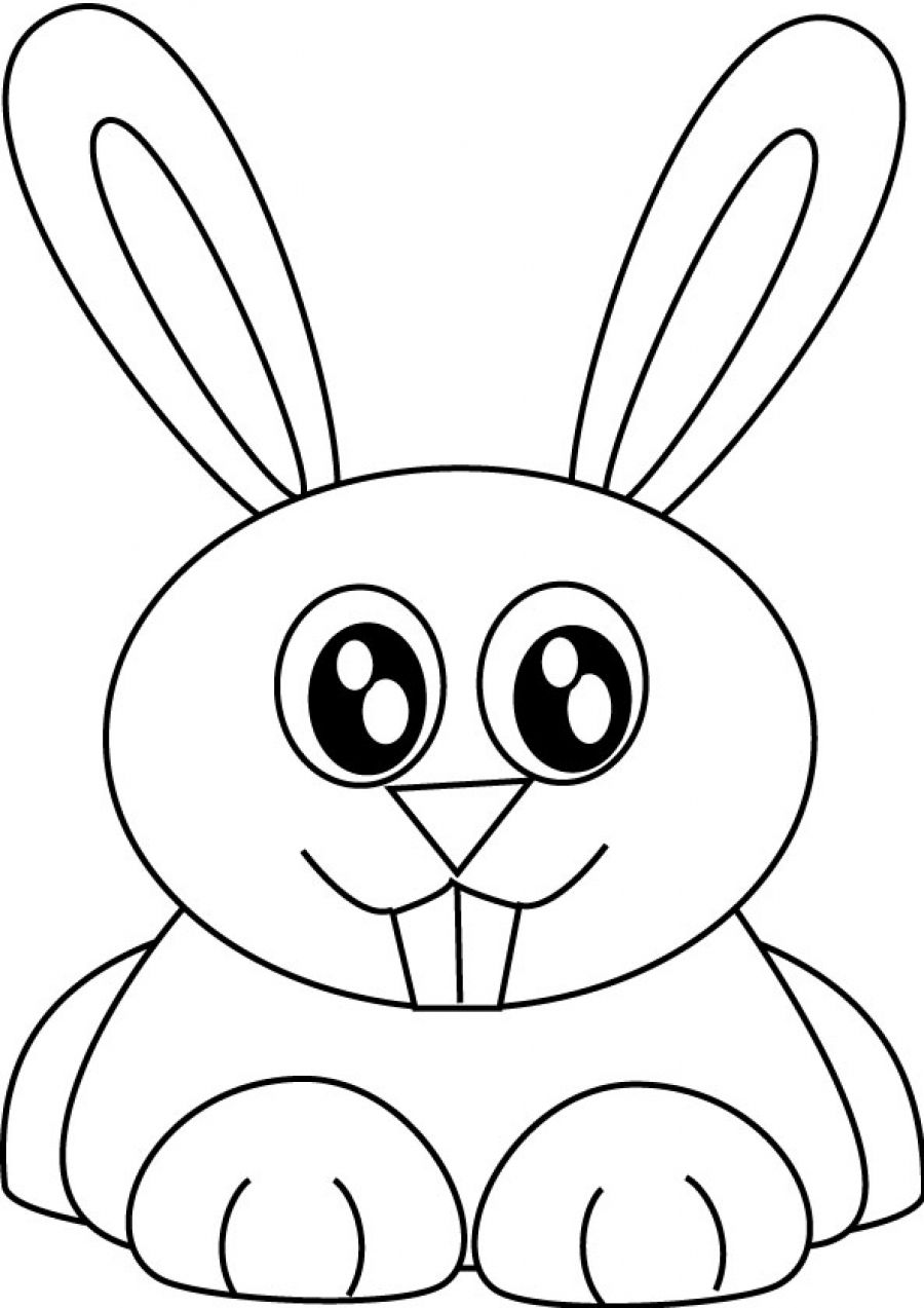 900x1273 Bunny Coloring Pages To Print