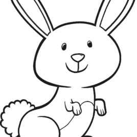 268x268 Free Coloring Page Rabbit Kids Drawing And Coloring Pages