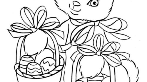 500x280 Luxury Easter Bunny Color Pages Coloring Pages Activities