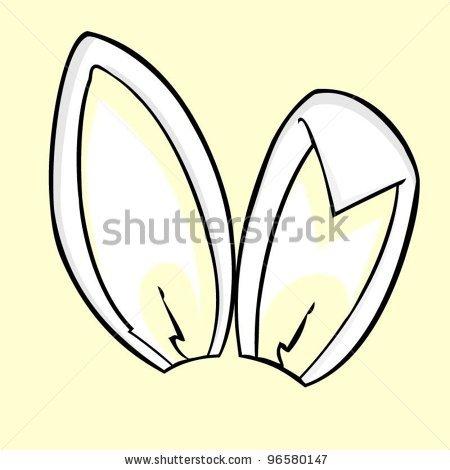 450x470 Bunny Ears Clipart