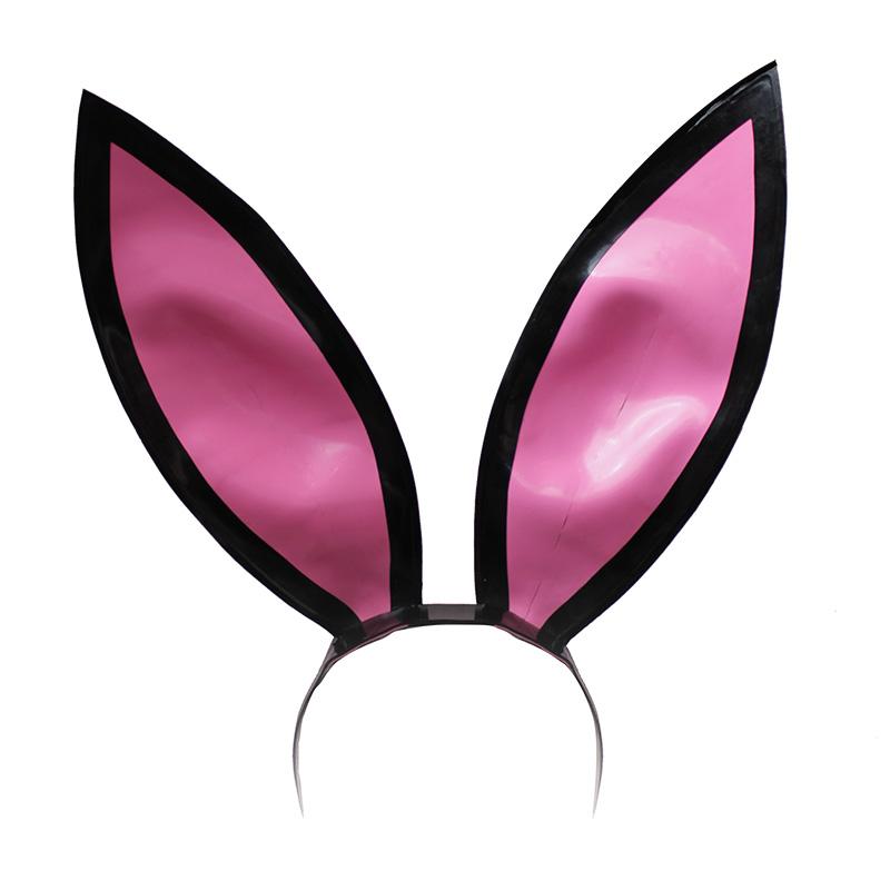 800x800 Couture Latex 12 Inch Bunny Ears On Headband Atsuko Kudo