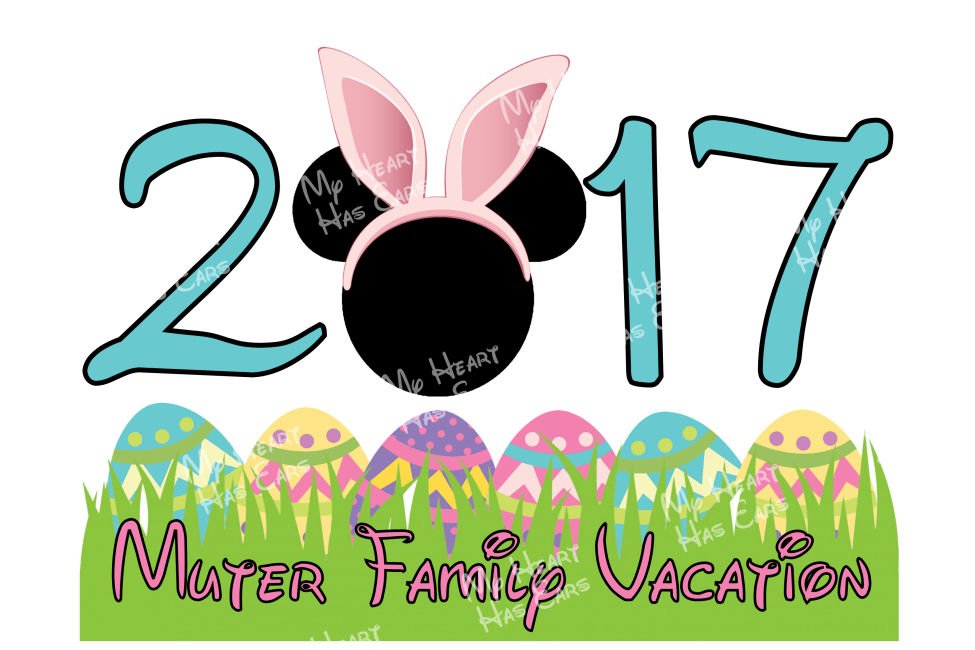975x650 Disney Easter With Mickey Mouse Bunny Ears Personalized Family