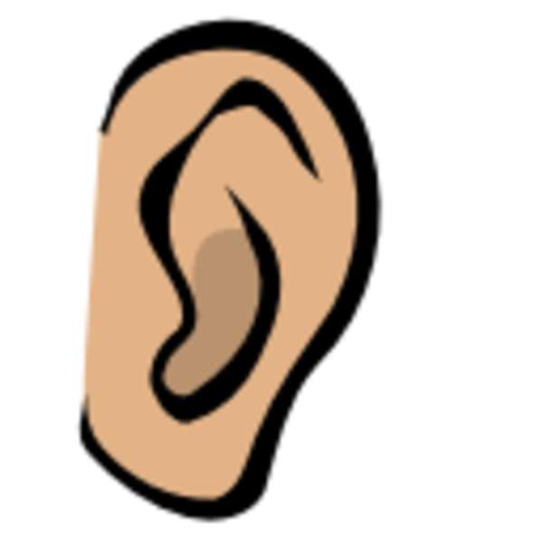 600x600 Ears Clip Art