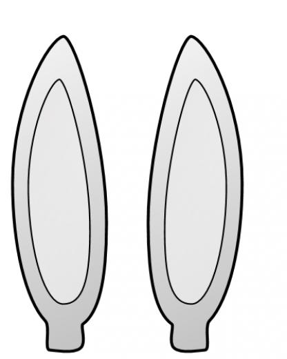 416x520 Easter Bunny Earsbunny Ears Clip Art Bunny Ears Clip Art Clip Art