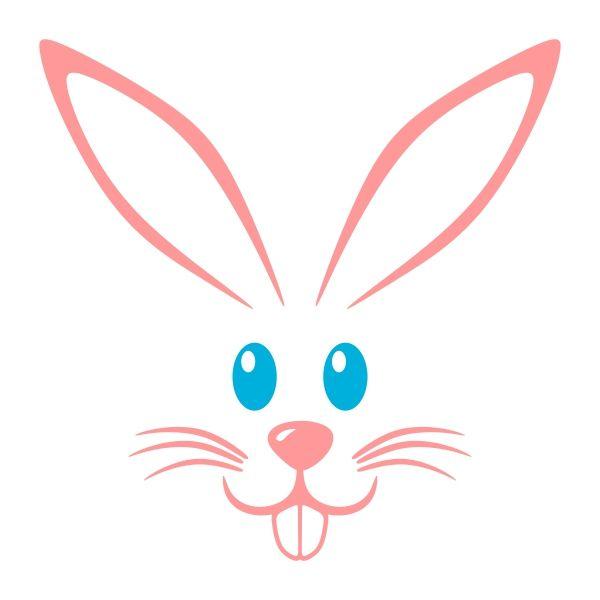 600x600 Bunny Clipart Rabbit Face