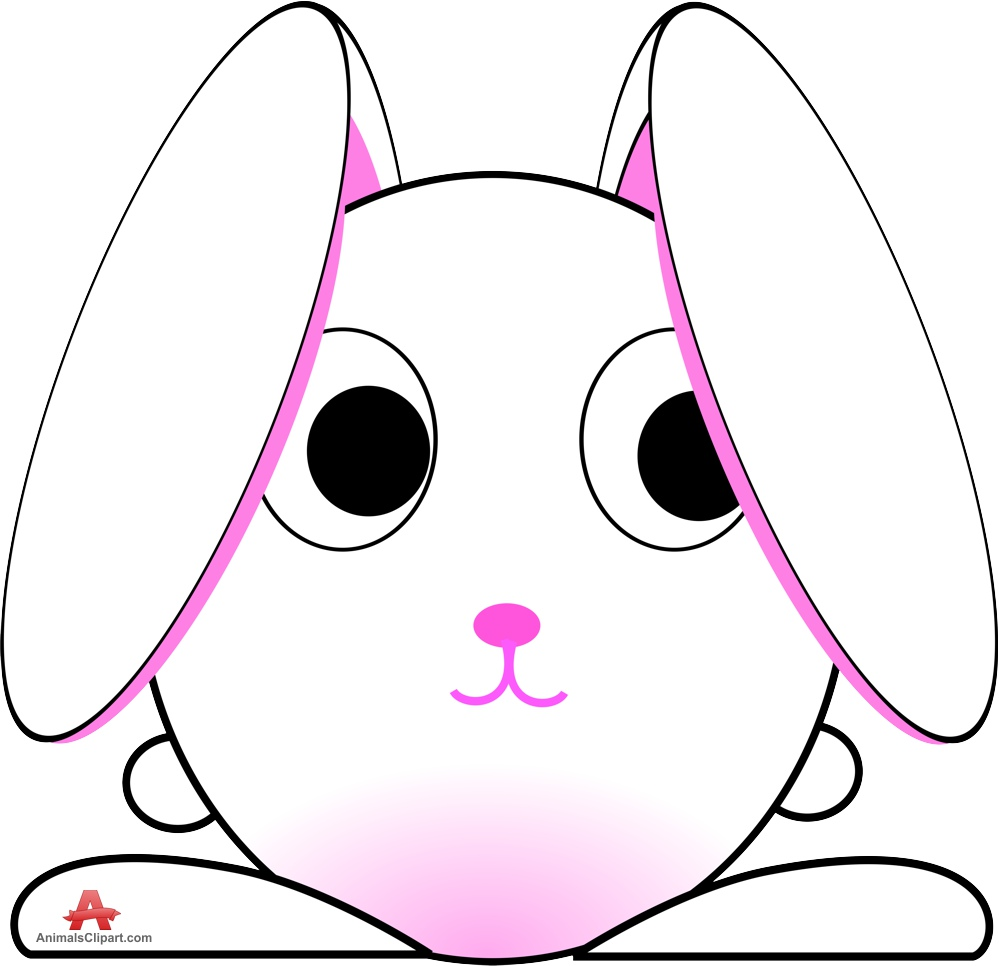 999x966 Cute Bunny Drawing Clipart Free Clipart Design Download