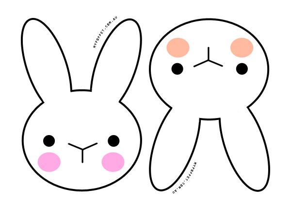 600x424 Bunny Clipart Printable