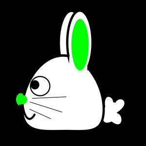 Bunny Head Clipart