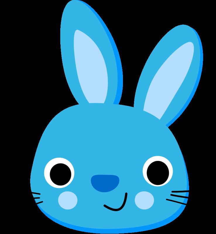 738x800 Cute Face Bunny Clip Art