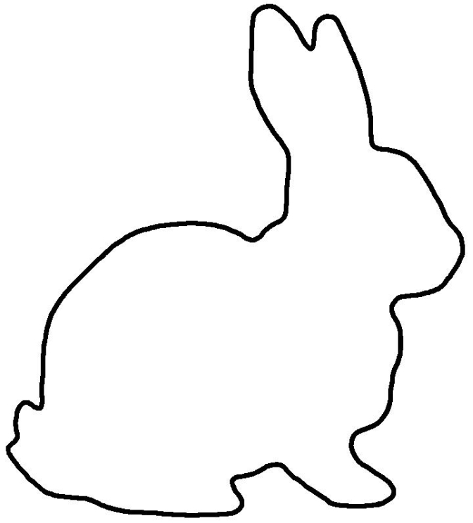 Bunny Outline