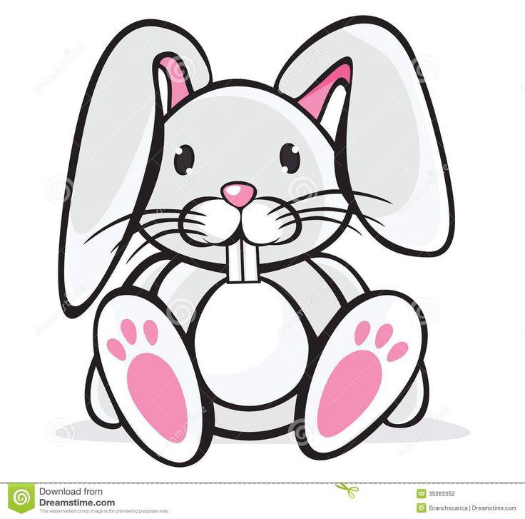 736x727 Jack Rabbit clipart baby bunny