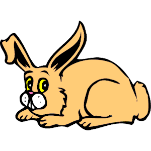 300x300 Top 71 Rabbit Clip Art