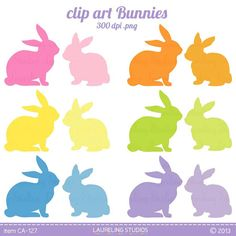 236x236 royalty free vector Easter rabbit clip art, bunny clipart