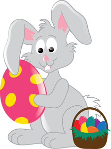 225x300 Easter Bunny Clipart Image