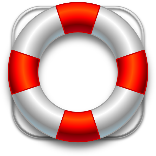 600x600 Floating Clipart Life Buoy