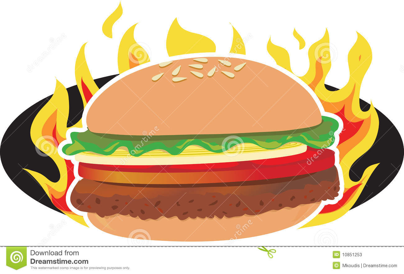 Burgers clipart free download best burgers clipart on for Hamburger clipart