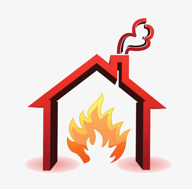 650x641 A Burning House, To Catch Fire, Catch Fire, Fire Png Image